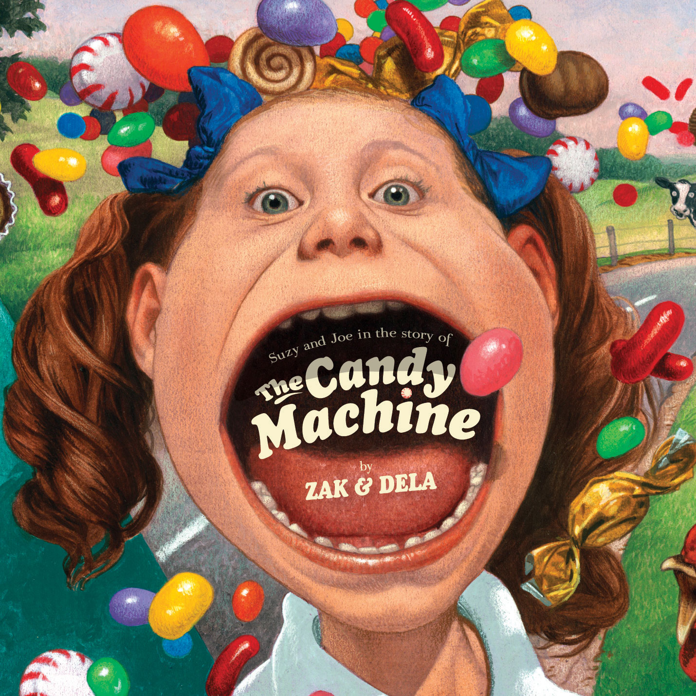 The Candy Machine by Zak Morgan