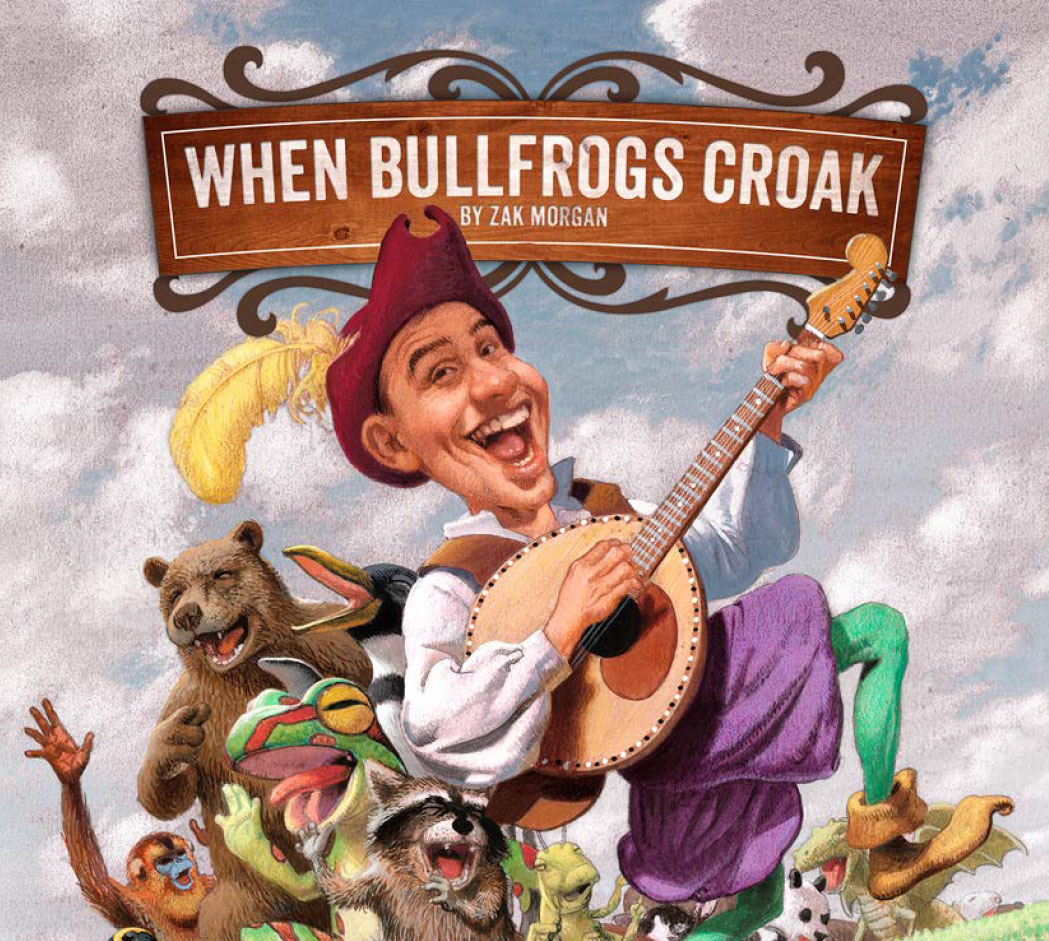 When Bullfrogs Croak by Zak Morgan