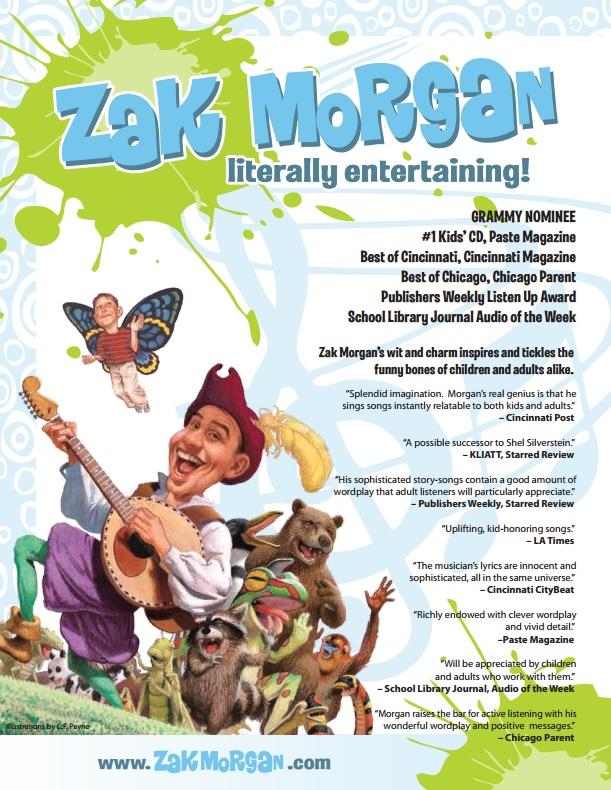Zak Morgan Flyer